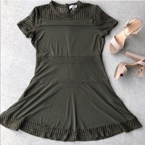 Michael Kors // Sage Mesh Panel Dress